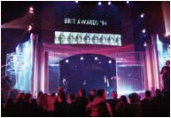 Brit Awards Stage Set