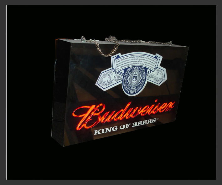 Electro Signs - Sign Hire - Original European Budweiser Neon